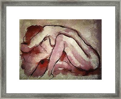 Closeness Framed Print by Gun Legler