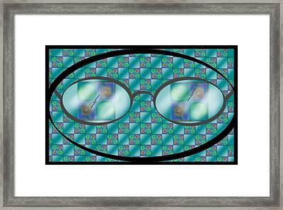 Closer Look Framed Print by Carol Shoemaker