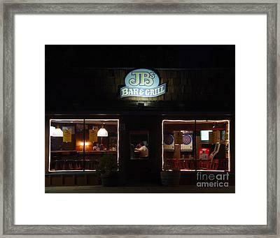 Closing Hour Framed Print by Peter Piatt