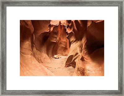 Closing In Framed Print by Adam Jewell