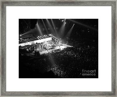 Closing The Spectrum Framed Print