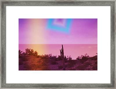 Closing Vortex In Arizona 1 Framed Print