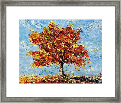 Framed Print featuring the painting Clothed With Joy by Meaghan Troup