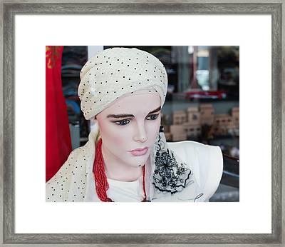 Clothes Mannequin Framed Print