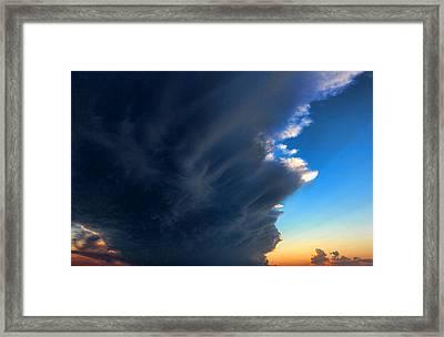 Cloud 20130330-60 Framed Print by Carolyn Fletcher