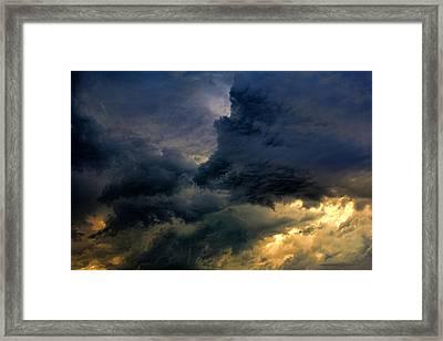 Cloud 20130426-31 Framed Print by Carolyn Fletcher