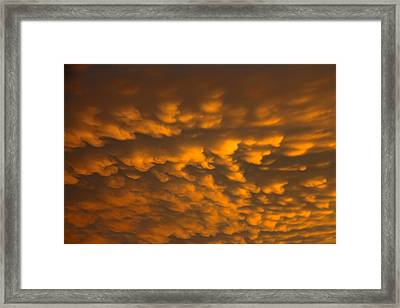 Cloud 20130531-33 Framed Print by Carolyn Fletcher