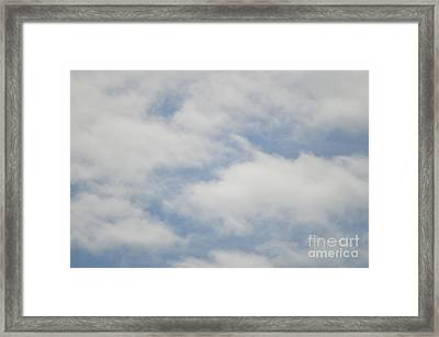 Cloud 9 Framed Print by Sheldon Blackwell