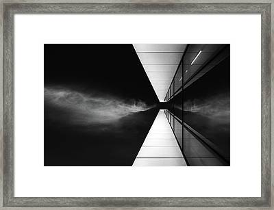 Cloud Attack Framed Print