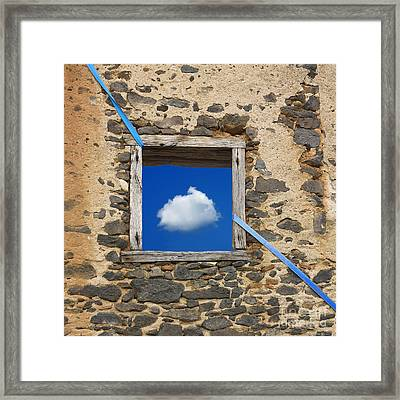 Cloud Framed Print by Bernard Jaubert