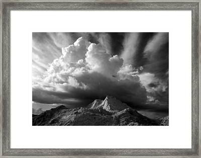 Cloud Burst Framed Print