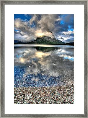 Framed Print featuring the photograph Cloud Catcher by David Andersen