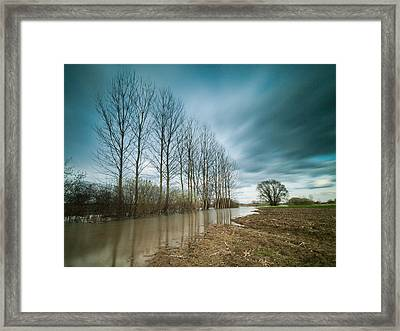 Cloud Catchers Framed Print by Davorin Mance