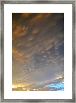 Cloud Ceiling 3  Framed Print by Lyle Crump