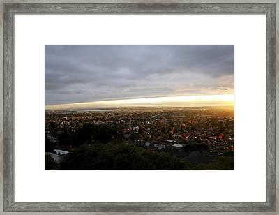 Cloud Ceiling Framed Print
