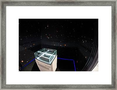 Cloud Chamber Educational Display Framed Print by European Space Agency/p. Sebirot, 2015