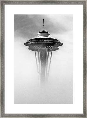 Cloud City 1962 Framed Print by Benjamin Yeager