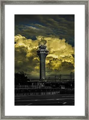 Cloud Control Framed Print