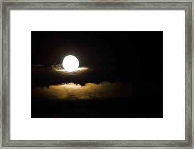 Cloud Cradle  Framed Print