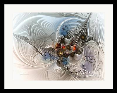 Futurist Digital Art Framed Prints