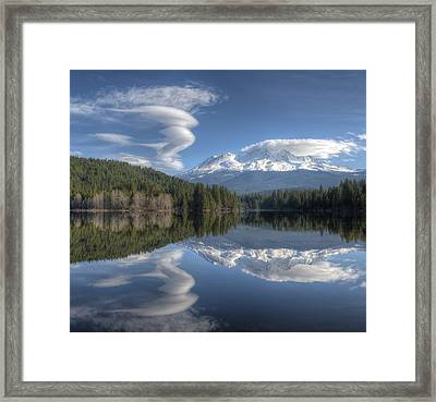 Cloud Dance Framed Print by Loree Johnson