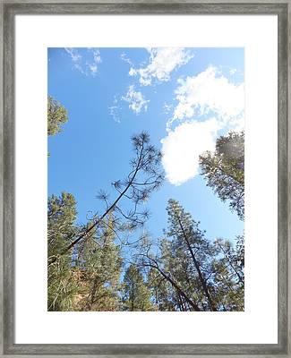 Cloud Dancing Framed Print by Amy Drago