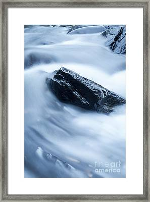 Cloud Falls Framed Print by Edward Fielding