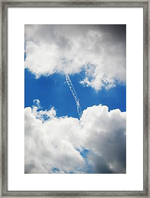 Cloud Fill Framed Print by Diaae Bakri