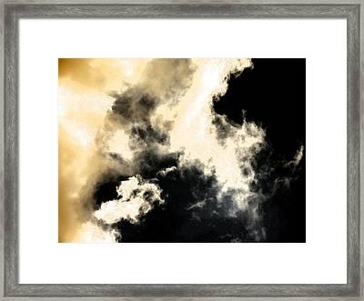 Cloud Formation Framed Print