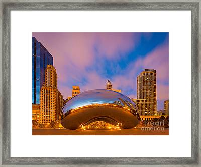 Cloud Gate Number 4 Framed Print