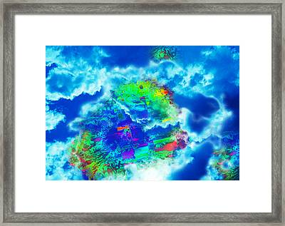Cloud Genesis Framed Print by Colleen Cannon