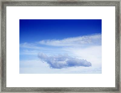 Cloud Framed Print