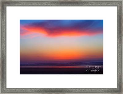 Cloud Hold The Sun Framed Print
