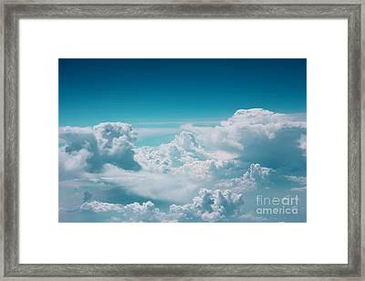 Cloud Framed Print by Jan Wolf