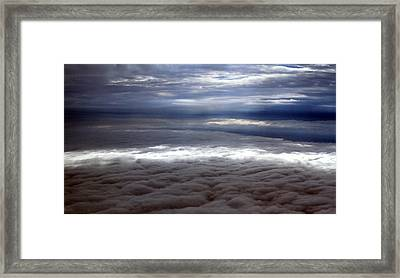 Cloud Layers 1 Framed Print by Maxwell Amaro