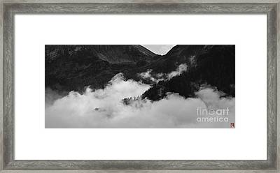 Cloud  Framed Print by Marco Affini