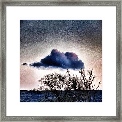 Cloud Framed Print by Marianna Mills