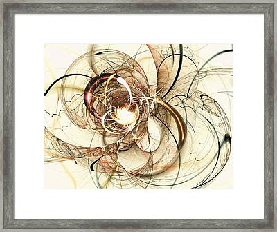 Cloud Metamorphosis Framed Print by Anastasiya Malakhova