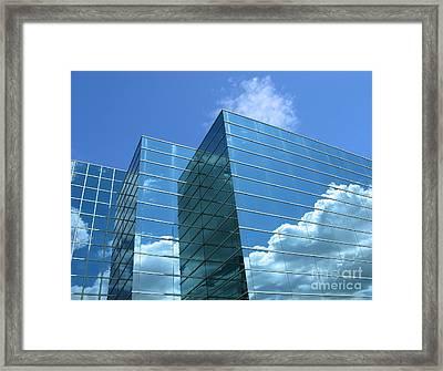 Framed Print featuring the photograph Cloud Mirror by Ann Horn