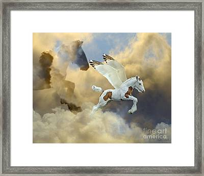 Cloud Mother Framed Print by Judy Wood