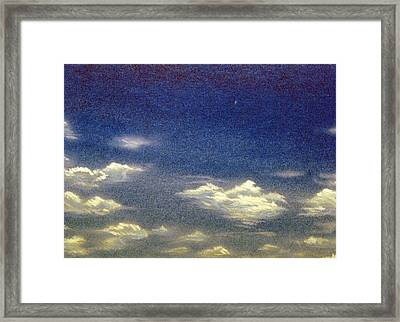 Cloud Nine Framed Print