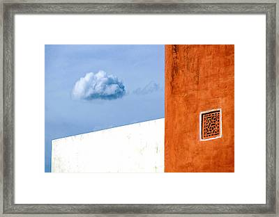 Cloud No 9 Framed Print