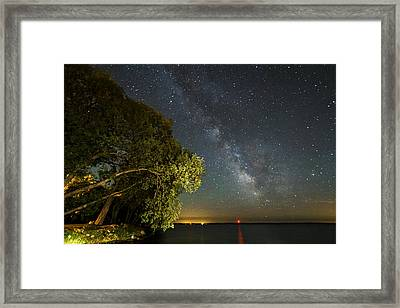 Cloud Of Stars Framed Print