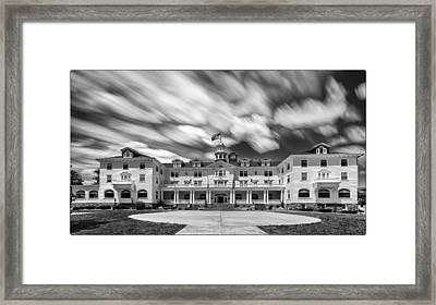 Cloud Painting At The Stanley Hotel Framed Print