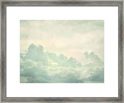 Cloud Series 5 Of 6 Framed Print by Brett Pfister