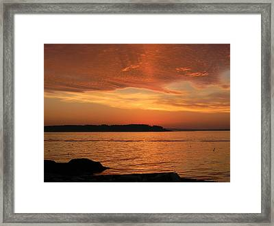 Cloud Shadows Framed Print