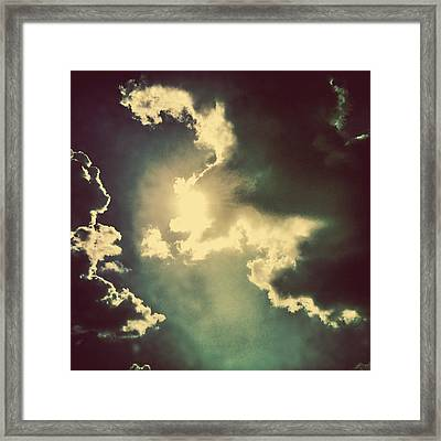 Cloud Shine Framed Print