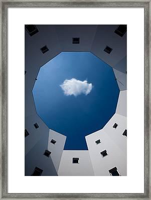 Cloud Framed Print by Sobul
