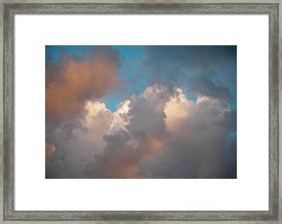 Framed Print featuring the photograph Cloud Study 3 by Laurie Stewart