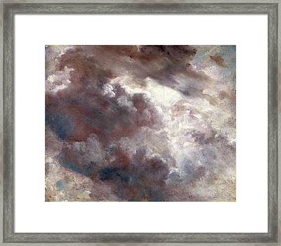 Cloud Study Dark Cloud Study, John Constable Framed Print
